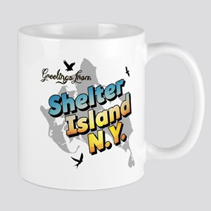Shelter Island New York NY Long Island Mug