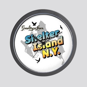 Shelter Island New York NY Long Island Wall Clock