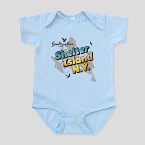 Shelter Island New York NY Long Island Body Suit