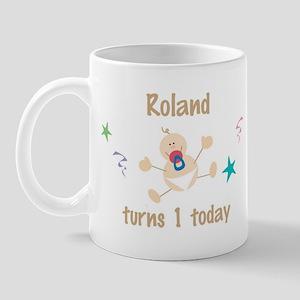 Roland turns 1 today Mug