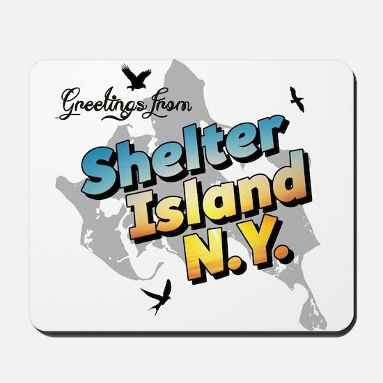 Shelter Island New York NY Long Island Mousepad
