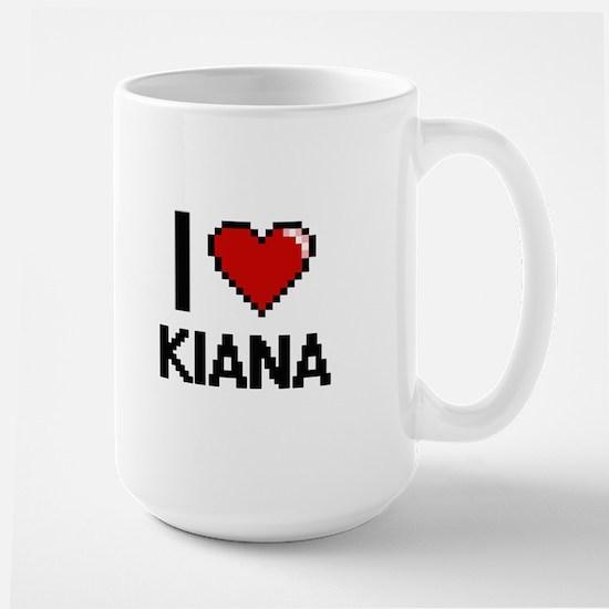 I Love Kiana Mugs