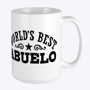 World's Best Abuelo Large Mug