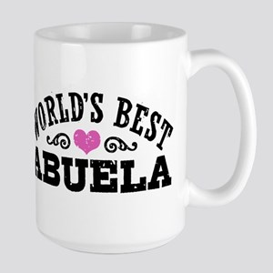 World's Best Abuela Large Mug