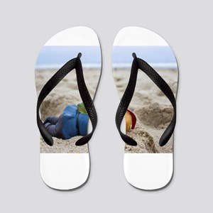 Napping Gnome Flip Flops
