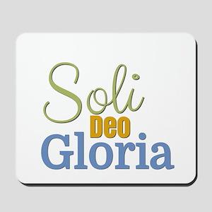 Soli Deo Gloria Mousepad