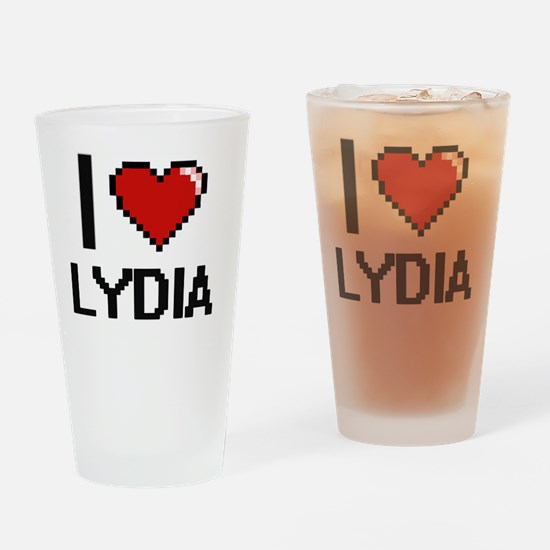 Unique Lydia Drinking Glass