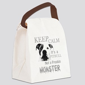 monster Canvas Lunch Bag