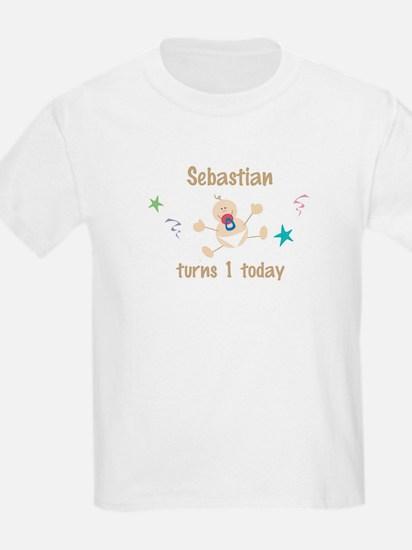 Sebastian turns 1 today T-Shirt