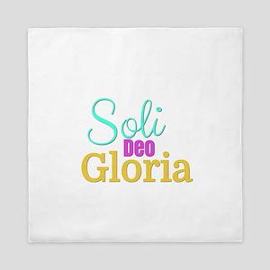 Soli Deo Gloria Queen Duvet
