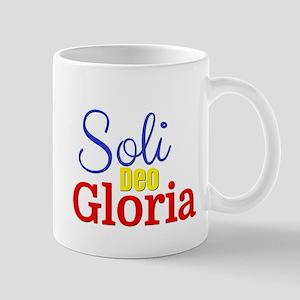 Soli Deo Gloria - Primary Colors Mug