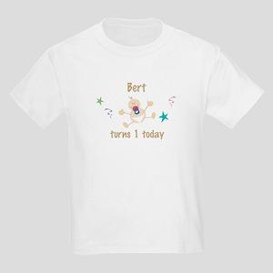 Bert turns 1 today Kids Light T-Shirt