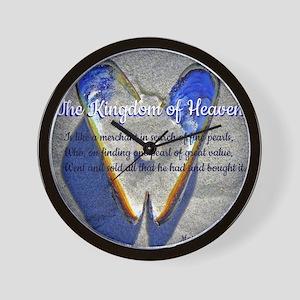 The kingdom of Heaven Wall Clock
