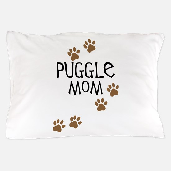 Puggle Mom Pillow Case