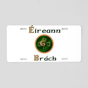 Eireann Go Brach Aluminum License Plate