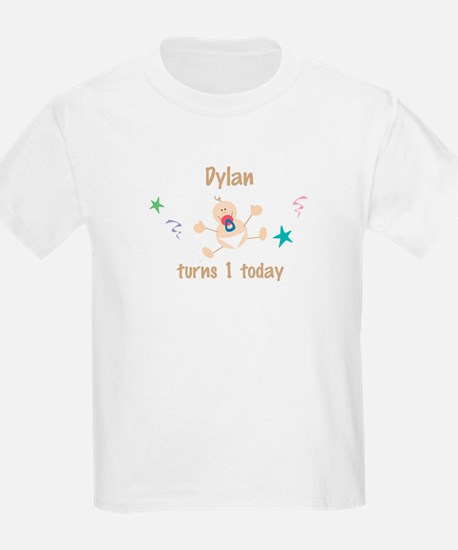 Dylan turns 1 today T-Shirt