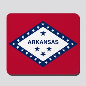 State Flag of Arkansas Mousepad