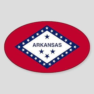 State Flag of Arkansas Sticker