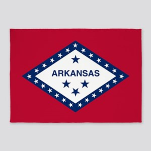 State Flag of Arkansas 5'x7'Area Rug