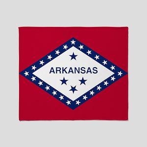 State Flag of Arkansas Throw Blanket