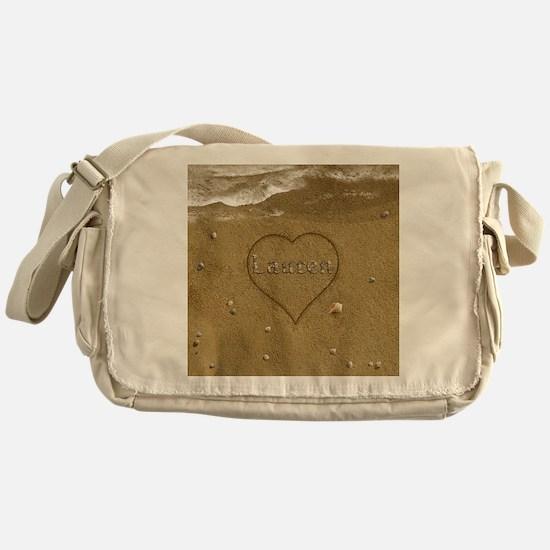 Lauren Beach Love Messenger Bag