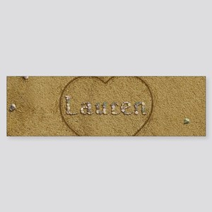 Lauren Beach Love Sticker (Bumper)