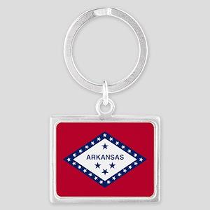 State Flag of Arkansas Keychains