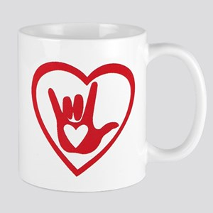 I love you with all my heart Mugs