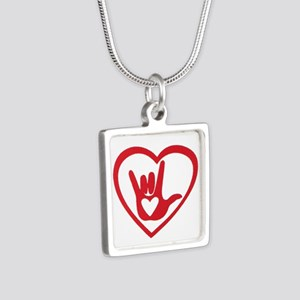 I love you with all my heart Necklaces