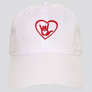 I love you with all my heart Baseball Cap