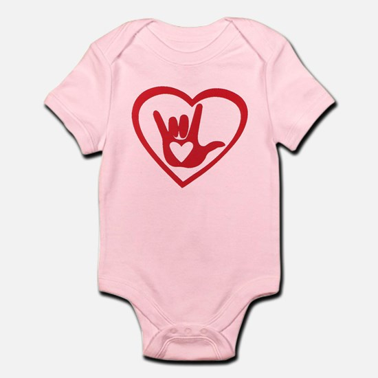 I love you with all my heart Body Suit