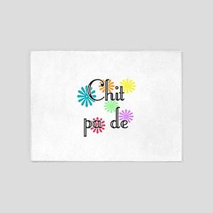 Chit pa de - Burmese - I Love You 5'x7'Area Rug