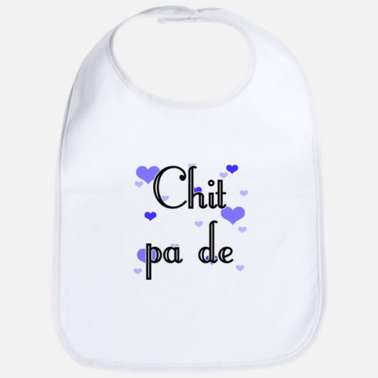 Chit pa de - Burmese - I Love You Bib