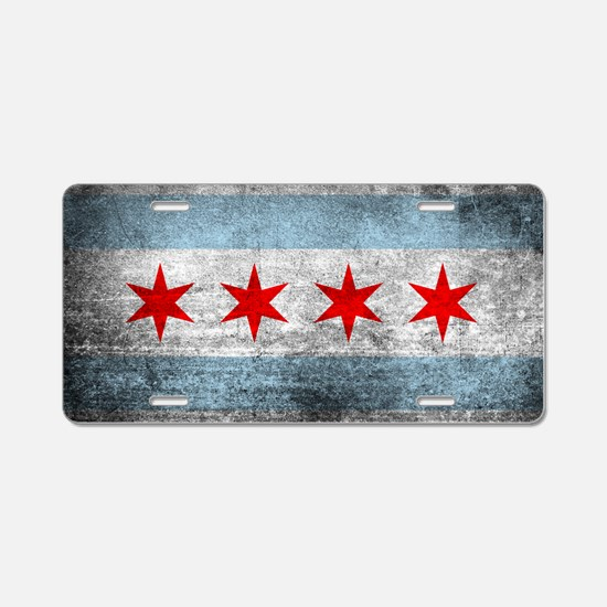 Funny Chicago Aluminum License Plate
