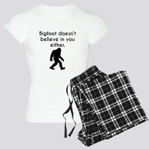 Bigfoot Doesn't Believe In You Either Pajamas