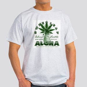 hula hemp Ash Grey T-Shirt