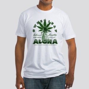 hula hemp Fitted T-Shirt