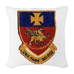 USS HANK Woven Throw Pillow