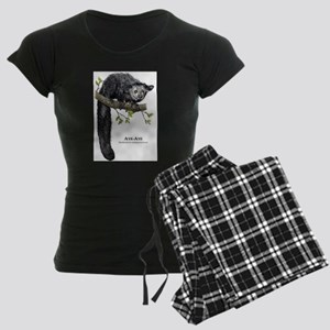 Aye-Aye Women's Dark Pajamas