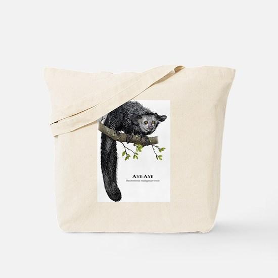 Aye-Aye Tote Bag