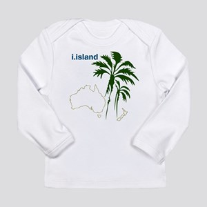 OYOOS Palmtree design Long Sleeve T-Shirt