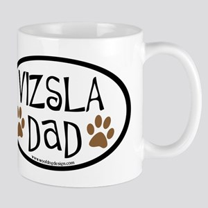 Vizsla Dad Oval Mug
