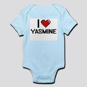 I Love Yasmine Body Suit