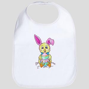Chickadee Easter Bunny Bib