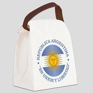 Argentine Republic Canvas Lunch Bag