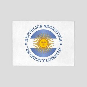 Argentine Republic 5'x7'Area Rug