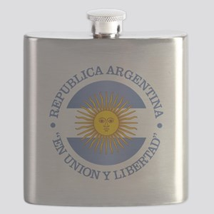 Argentine Republic Flask