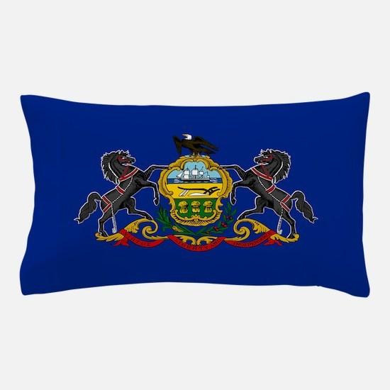 State Flag of Pennsylvania Pillow Case