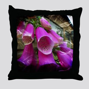 Foxglove. Throw Pillow