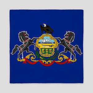 State Flag of Pennsylvania Queen Duvet